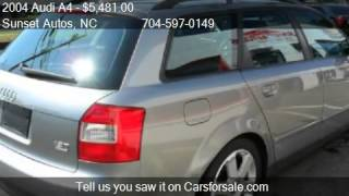 2004 Audi A4 1.8T Avant quattro AWD 4dr Wagon for sale in Ch