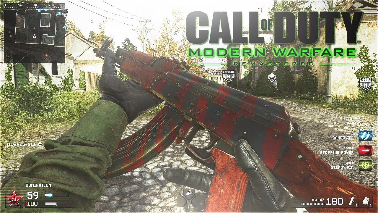 how to play modern warfare remastered without infinite warfare