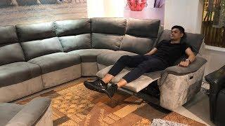 Видео обзор: Угловой Диван и Кресло Либеро с реклайнерами