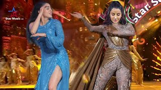 Sara Ali Khan and Nora Fatehi Remarkable Dance Performance on First Awards 2021, Behind Scene