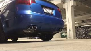 2007 audi s4 b7 dtm package with magnaflow 16689 rs4 exhaust