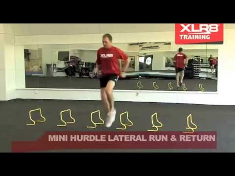 Mini Hurdle Training Drills