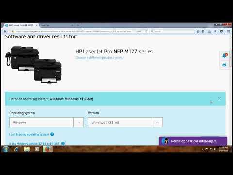 HP Laserjet Pro MFP M127 Printer Driver, Download
