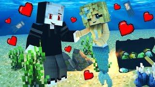 Вампир и Русалочка Майнкрафт Выживание Мультик для детей Мод Видео Мультик для детей Minecraft Моды