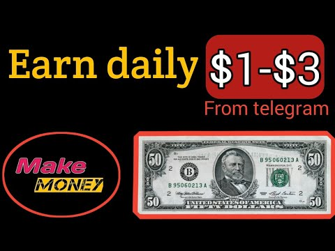 Earn daily $1-$3 BTC...from telegram bot..100%paying bot...