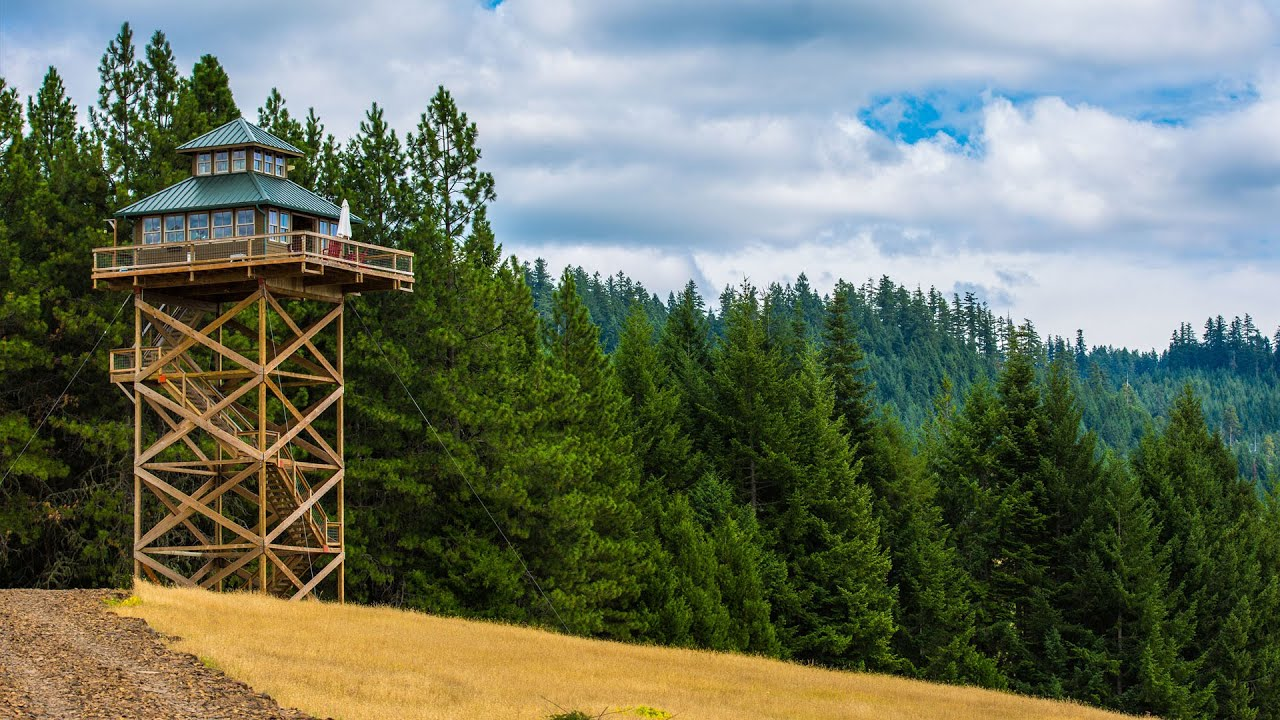 Treehouse Without The Tree: Life In A Fire Lookout Home   YouTube