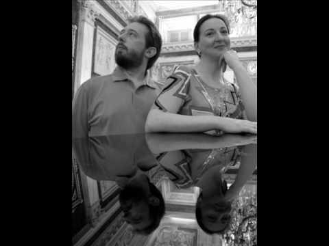 """Donizetti live- sonata per pianoforte a quattro mani """"La lontananza"""""""