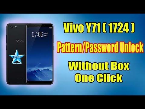 Vivo Y71 (1724) Pattern/Password Unlock Miracle Without Box   Vivo 1724 Pattern Lock Remove