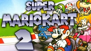 Let's Play Super Mario Kart Part 2: Knackiger Blumen Cup