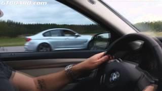 BMW M3 F80 vs BMW M5 F10 with Schmiedemann exhaust both stock with 250 km/h limiter