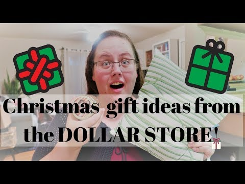 Christmas Gift Ideas from the DOLLAR STORE! - Shopping early!