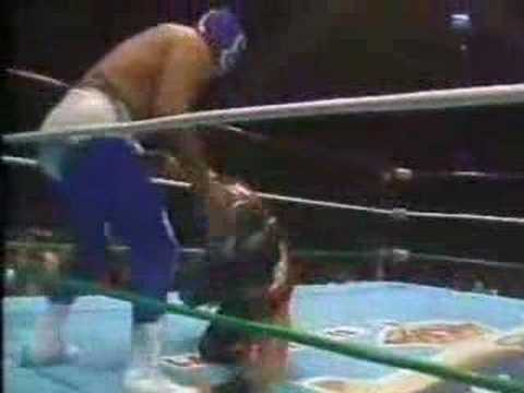 CMLL Ultimo Dragon vs Blue Panther Complete Match