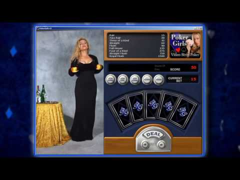 PokerGirls Video Strip Poker - How To Play The Game