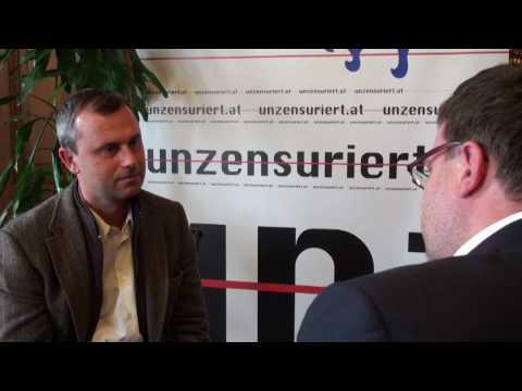 Norbert Hofer im Unzensuriert-Interview