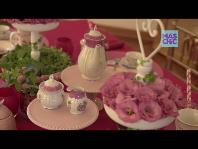 Ramiro Arzuaga Viste tu mesa por MAS CHIC TV   Mesa Te de Niñas