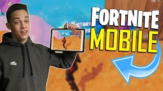 FAST MOBILE BUILDER on iOS / 675+ Wins / Fortnite Mobile + Tips & Tricks!