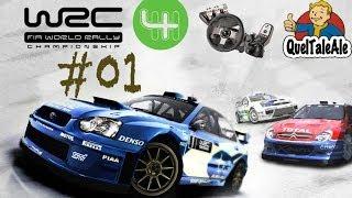 WRC 4 - Gameplay ITA - Logitech G27 - #01 L