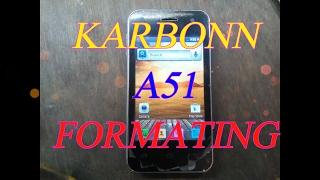 KARBONN A51 HARD RESET / FORMAT WITH MIRACLE BOX.
