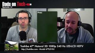 Toshiba 47TL515U 3D TV Review
