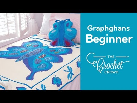 How To Crochet Graphghans How To Read Crochet Graphs Youtube