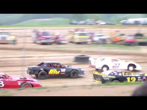 Marion Center Speedway 5/28/16 Street Stock heat part 1