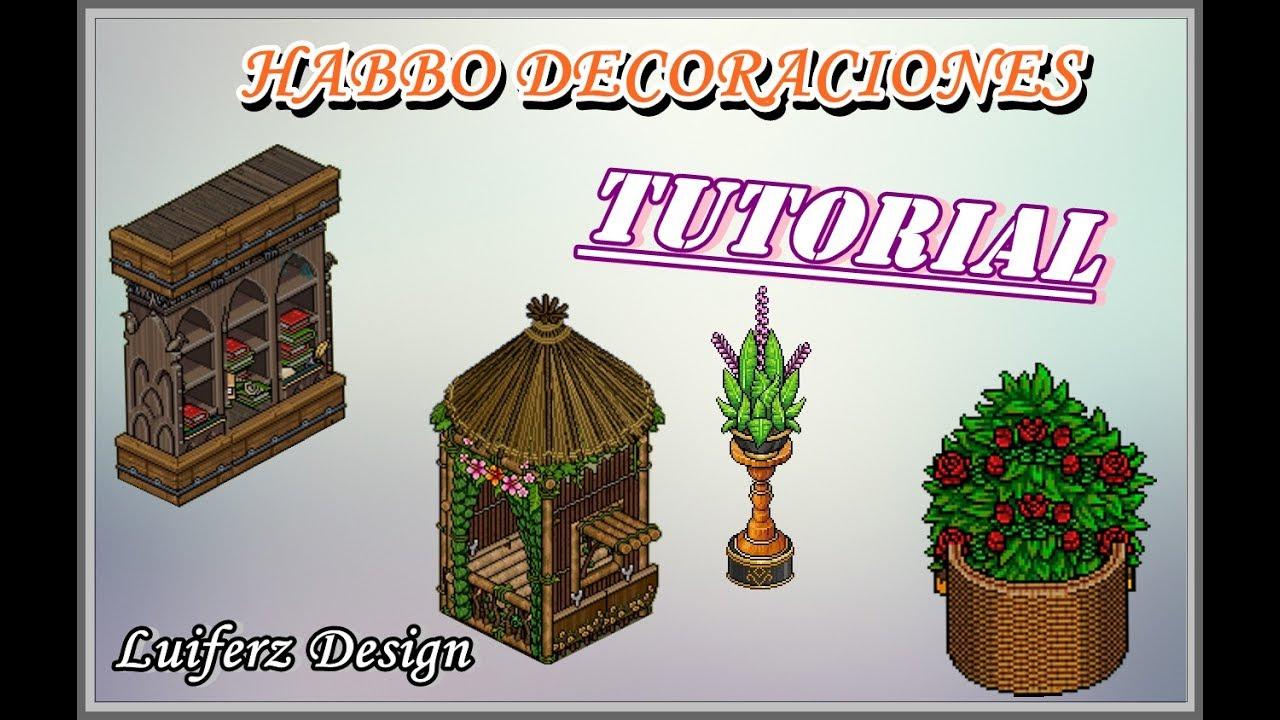 Habbo tutorial decoraciones para tu sala 2 youtube for Habbo decoraciones
