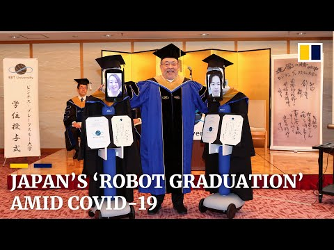 Avatar Robots Replace Japanese Students For Graduation Ceremony Amid Covid-19 Pandemic