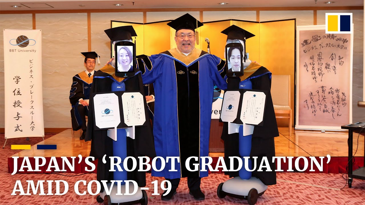 Avatar Robots Replace Japanese Students For Graduation Ceremony