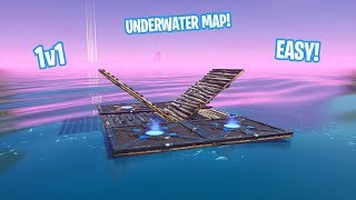 How to Make THE UNDERWATER 1v1 MAP/ARENA IN CREATIVE MODE! (SUPER EASY!)