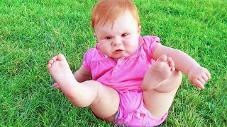 Funniest Baby's Outdoor Moments - Funny Baby Videos