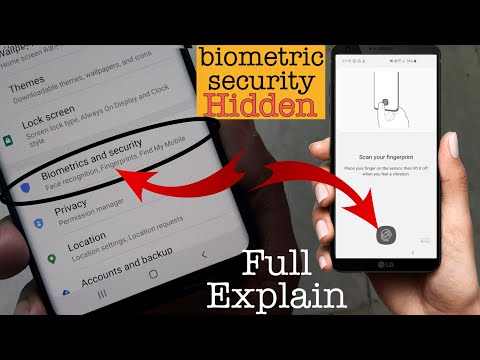 Biometrics & Security Explain With detail Every smartphone