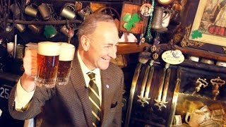 St. Patrick's Day with Senator Chuck Schumer