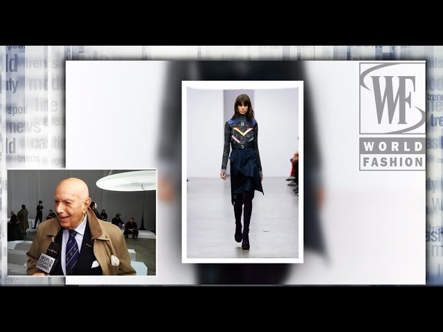 Front Row Iceberg Fall-Winter 15-16 Milan Fashion Week