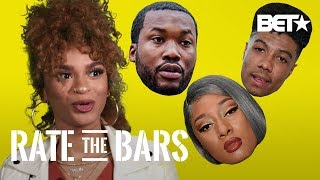 Melii Reacts To Megan Thee Stallion, Blueface, Tory Lanez & Rah Digga's Bars | Rate The Bars