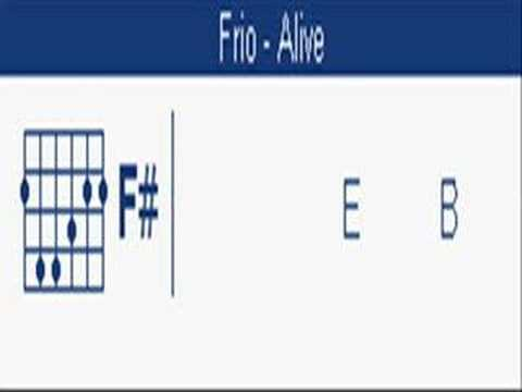 Alive Frio Chords Youtube
