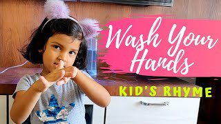 Wash Your Hands Rhyme   Wash Your Hands Song for Kids