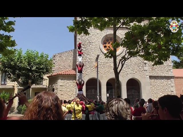 P5 Castellers Alt Maresme @ Begues (21/07/2019)