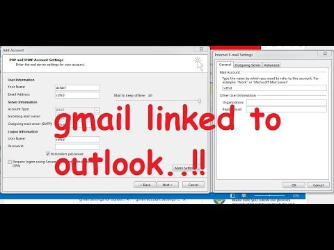 Setup Gmail In Outlook In 2 Minutes|Fix Incoming Mail Server And Test Email Failure