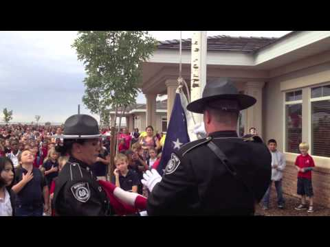 911 Ceremony at Maricopa's Legacy Traditional School