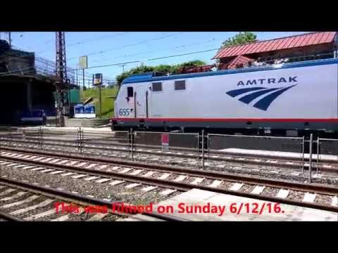 The Pennsylvanian train 42 and a Keystone part 11