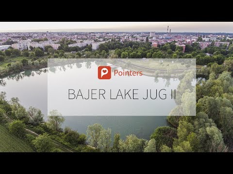 Bajer Lake — Osijek | DRONE FOOTAGE | Pointers Travel