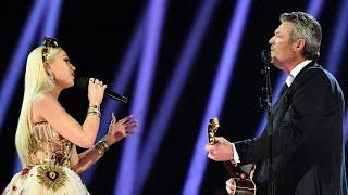 Blake Shelton, Gwen Stefani Get Emotional at Grammys With 'Nobody But You'