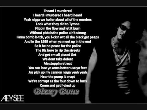 Bone Thugs N Harmony - Body Rott Lyrics
