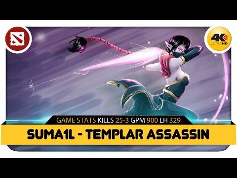 видео: Дота 2 Сумаил играет на Темпларке | dota 2 suma1l plays templar assassin | 25-3 | 4k 2160p 60fps