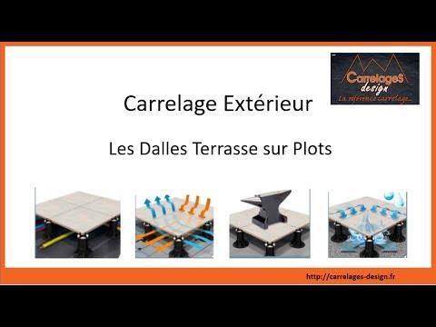 Carrelage Exterieur Les Dalles Terrasse Sur Plots