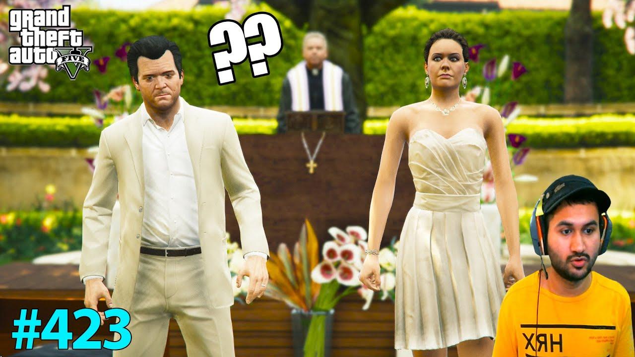 MICHAEL'S BIGGEST WEDDING PREPARATION IN LOS SANTOS | GTA 5 GAMEPLAY #423
