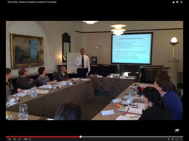 Gerlof Meijer | Speaker at Speakers Academy® | Presentatie
