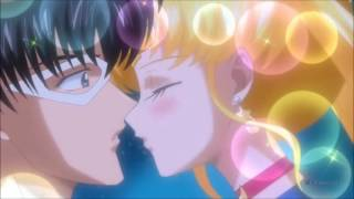 Усаги и Мамору - Kiss me (на русском)