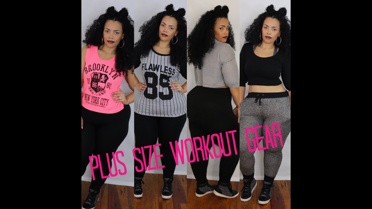 | Plus Size Workout Gear | On a Budget!! - YouTube
