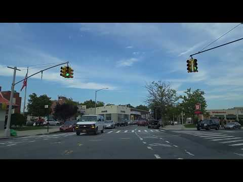 Driving from Briarwood to Whitestone in Queens,New York